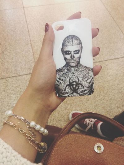 Rick Genest  Zombieboy Iphone Case New In ?