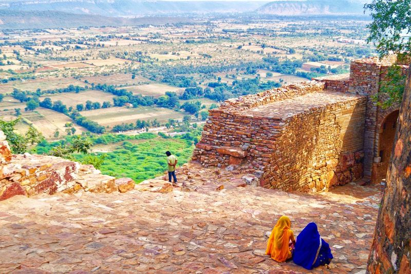 Connected By Travel Rajasthan Trip India Chitodgardh Locals People Travel Colors Awesome Connected By Travel