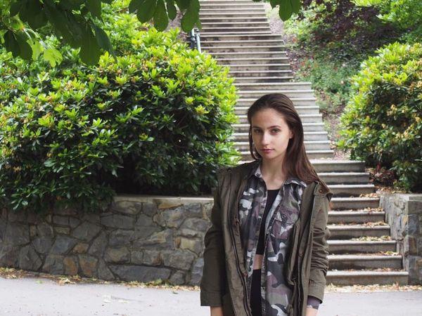 Nature Park Czech Teen Teengirl Trip Portrait Portrait Of A Woman
