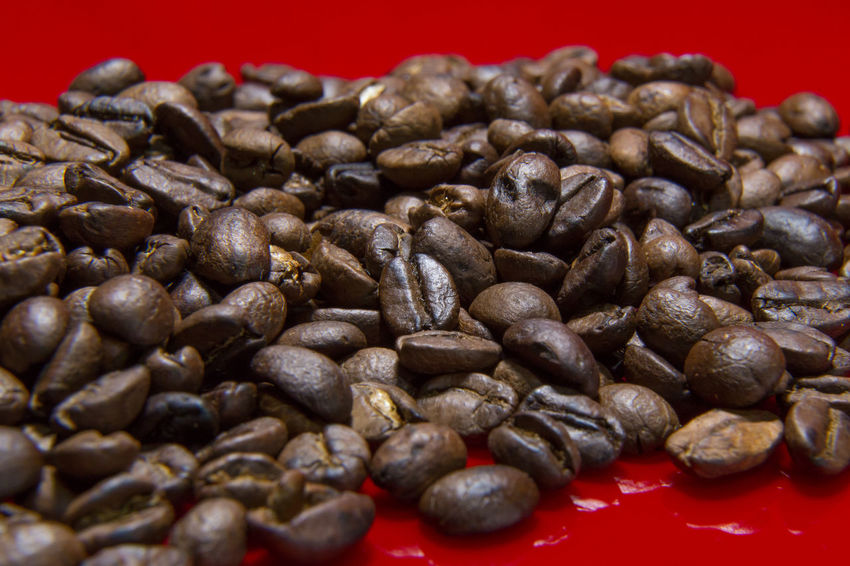 The Roasted Coffee Beans red background macro close up image for coffee background. Roasted Coffee Beans Coffee Beans Baker Coffee Beans Roasted Close-up Coffee Bean Coffee Beans Coffee Beans For Sale Coffee Beans Roaster Food Food And Drink Freshness Healthy Eating Indoors  Large Group Of Objects No People Raw Coffee Bean Roasted Roasted Coffee Roasted Coffee Bean Still Life