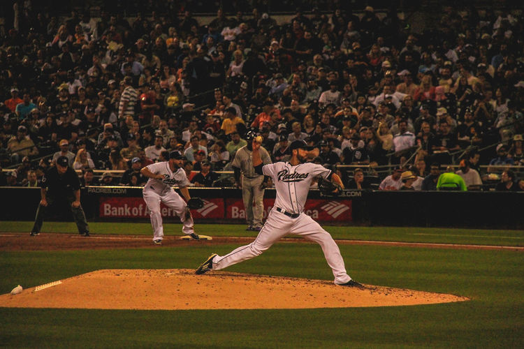 Baseball Padres Petco Park Pitcher San Diego Sports Photography Winners