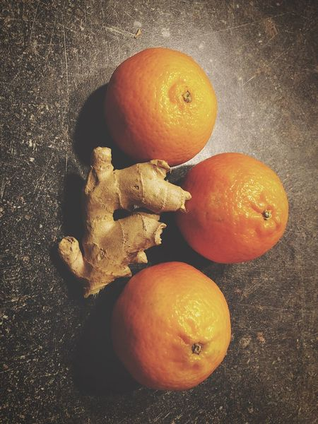 EyeEm Selects Fruit Orange - Fruit Healthy Eating Food And Drink Food Still Life Orange Color Freshness High Angle View No People Citrus Fruit Indoors  Close-up Day IPhoneography Iphone8plus Ginger Mandarins Kitchen