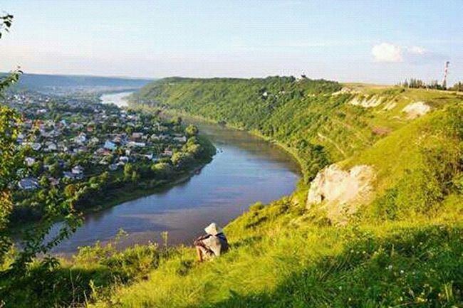 Ukraine Dnestr River