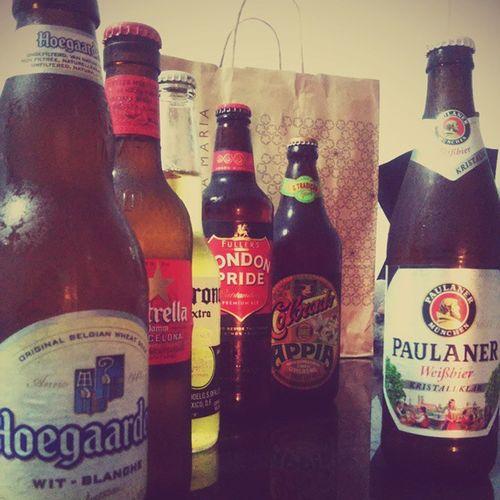 Friends Friday Beer Londonpride @corona Estrella @paulaner Coloradoappia Hoegaarden @larycampano