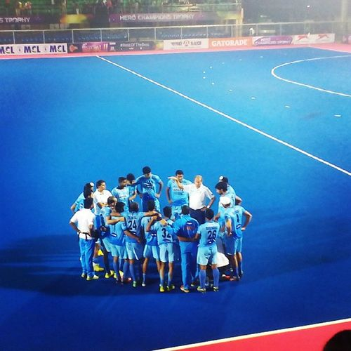 The Indian Men's Hockey Team. FIH ChampionsTrophy Bhubaneswar Hockey India Live DilDoHockeyKo Awesome