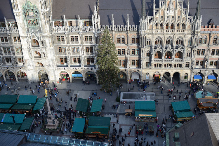 market on Munich Marienplatz in centre of city. Lot of people walking across the place. with christmas fair in advent time. Advent Aerial View Architecture Built Structure Christmas Fair City City Life City Life City Street Cityscape Crowd Day Large Group Of People Marienplatz Munich Munich, Germany München München Munich München,Germany Outdoors Tourism Town Hall Townhall Townhall Munich Travel Destinations