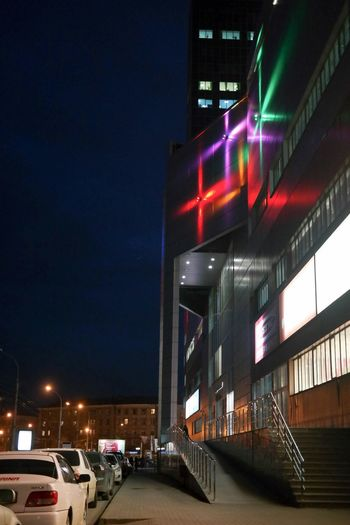 Новосибирские улочки Streetphotography Night Lights