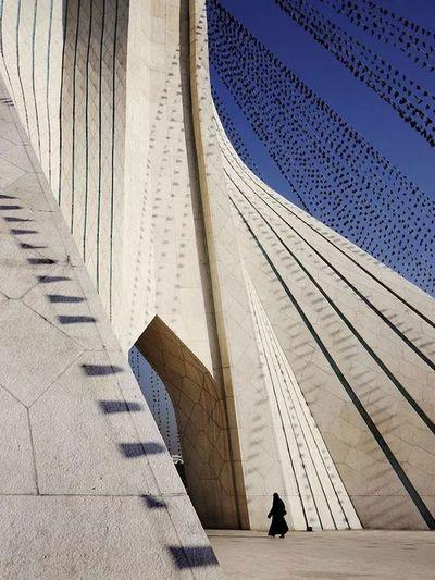 Azadi Tower In Tehran Tower EyeEm Best Shots - Architecture Iran