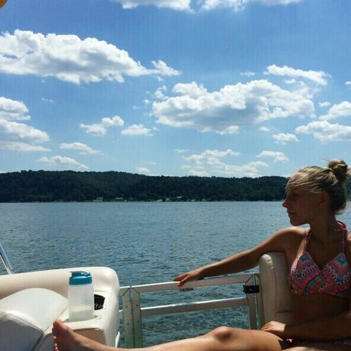 Boat daysss Boats⛵️ Boat Ride Summer ☀ River View