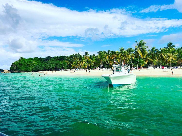 Take me back #2017 Island Summer Ocean Boat Dominican Republic Bacardi Island The Traveler - 2018 EyeEm Awards