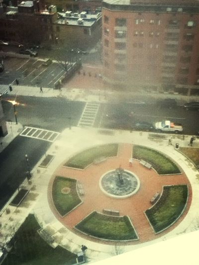 View from room in Boston