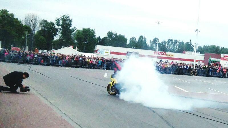 Urban Sports Moto Passion Love Beauty Stunt