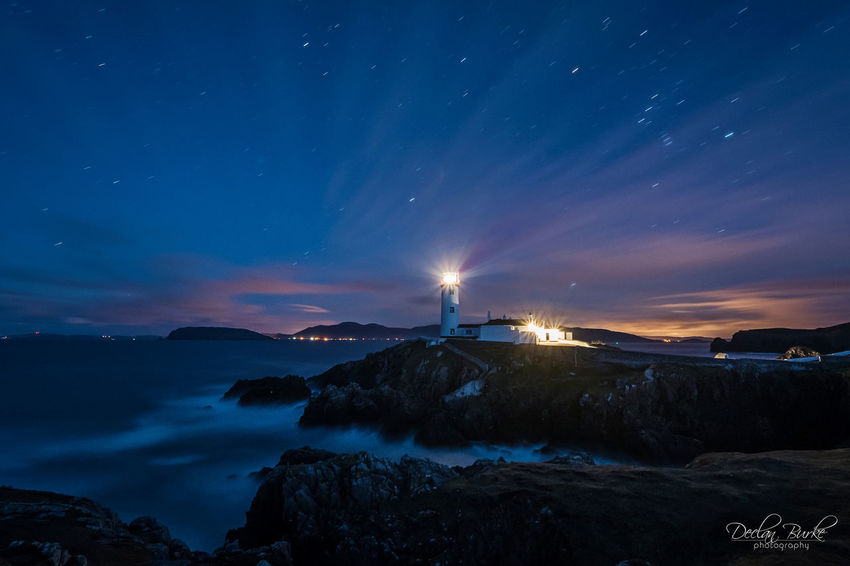 Fanad Lighthouse in County donegal, Ireland