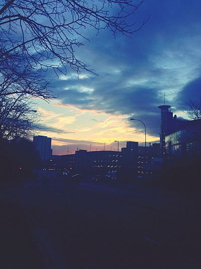Glasgow  Sunrise Morning November Early Morning