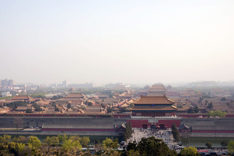 Forbidden City, Beijing Architecture Beijing Beijing, China Building Exterior Built Structure City Cityscape Clear Sky Day Forbidden City Gate Gugong Imperial Palace Mainland China No People Outdoors Roof Sky Tiananmen Square Travel Destinations Tree
