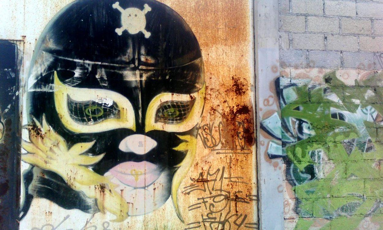 Rey misterio... Street Art Graffiti Art Graffitiporn Graffiti