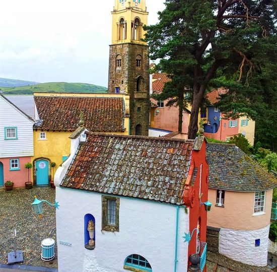 Portmeirion Wales Happy Holidays Having Fun Exploring Quirky Buildings Italianate Beatiful Place The Prisoner Famous Place