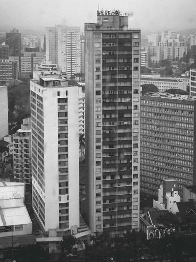 Architecture Black & White Black And White Black&white Blackandwhite Blackandwhite Photography Building Exterior Building Story Built Structure City City Life Cityscape Development Financial District  Growth Modern No People Office Building Outdoors Sky Skyscraper Tall Tall - High Tower Urban Skyline