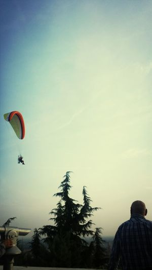 Parachute! Sunday Mass Hanging OutHanging Out Verona