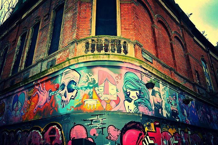 Graffiti Colorsplash BeCreative Mcgaffinphotography Belfast Streetphotography Belfaststreetart Street Art Somethingdifferent