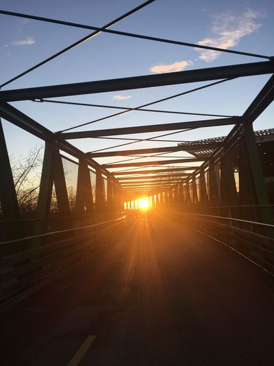 It's the oldest story of the world Connection Transportation Bridge - Man Made Structure Cable The Way Forward Road Sunlight EyeEmNewHere