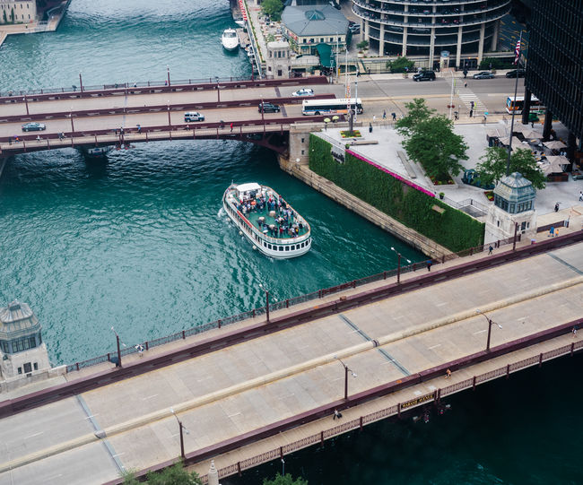 Bataan-Corregidor Memorial Bridge Boat Tour Chicago River City Downtown District Irv Kupcinet Bridge Travel Photography Urban