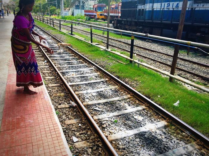 Tamilnadu India Tirunelveli Picoftheday Photography Photooftheday Check This Out Pictureoftheday Prospective Capture The Moment Nature Railwaystation Railway First Eyeem Photo Popular Photos Perspective Colors Colorful