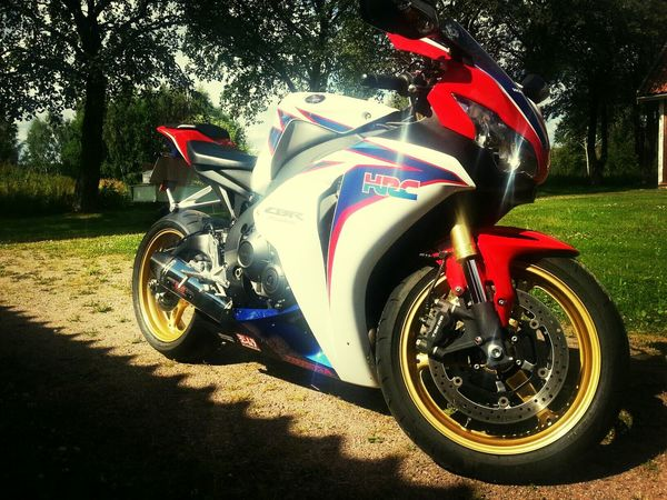 Honda Fireblade HRC my baby :-)