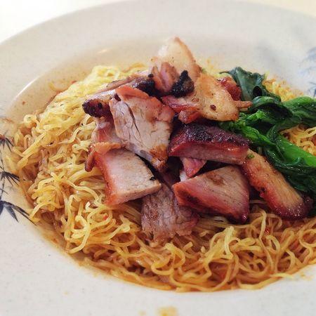 Food Porn Char Siew Noodles Wantonmee Wanton Mee Wanton Noodles