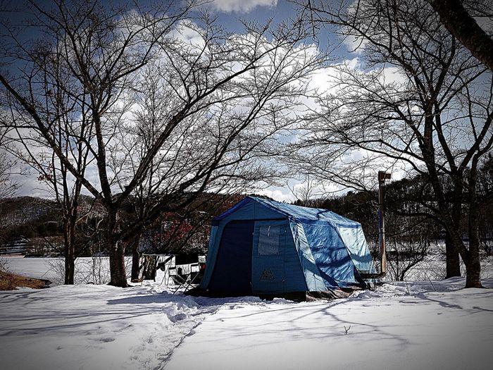 Camp Camp Camping Outdoor Outdoors Tent Lodge WinterCamp キャンプ アウトドア テント ロッジテント Bornfire 野営 Woodstove Firerwood 薪ストーブ Ironstove First Eyeem Photo