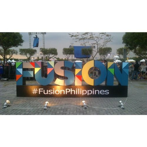 I was there when you made history. Great artists, great music. Still can't move on from last night. 7hours of celebrating OPM. FusionPhilippines Fusion2015 WePlayAsOne LongLiveOPM