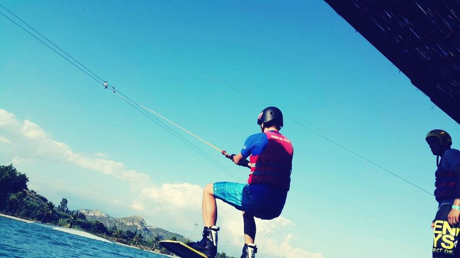 TakeoverContrast Cable Wakeboarding Fun Blue