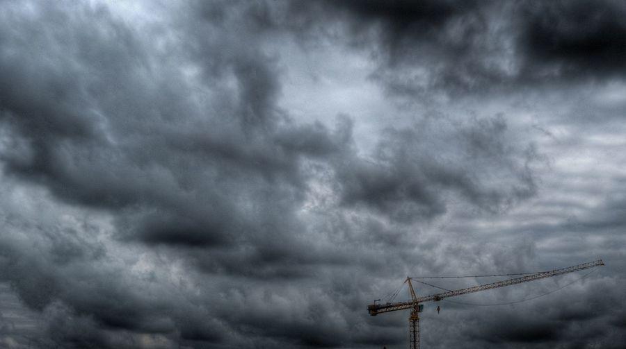 Cloud - Sky Clouds And Sky Cloudscape Cloudy Crane Outdoors Scenics Sky