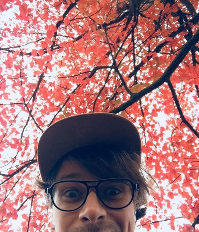 Tree Eyeglasses  Branch One Person Real People Autumn Flower