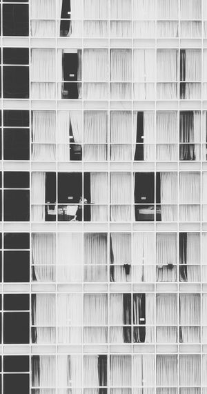 Pigeon hole Window Architecture Façade Social Issues Building Exterior Built Structure Apartment City Day Urban Lifestyle Early Morning Urban Photography People Dwellings High Rise Building