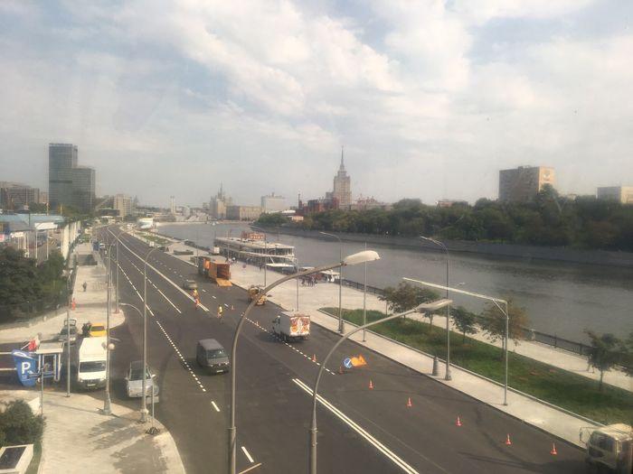 Багратион мост Москва Осень 🍁🍂 Сентябрь
