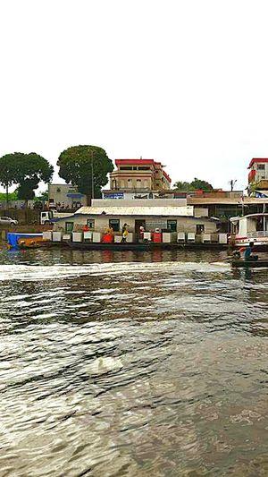 Tefé-Amazonas-Brasil - Porto Maritímo.