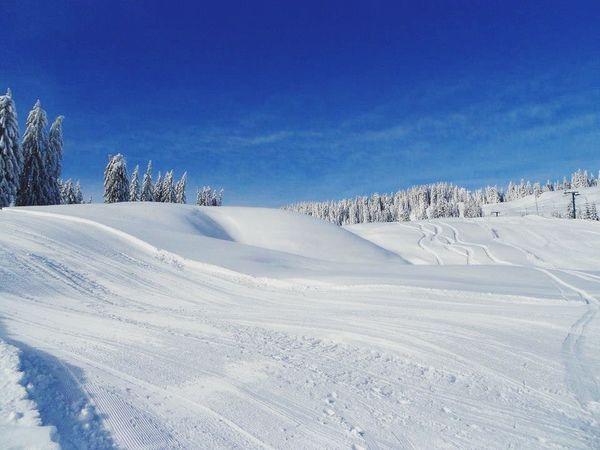 Beautiful Day Nature Neige Neige❄ Montagne Snowing Winter