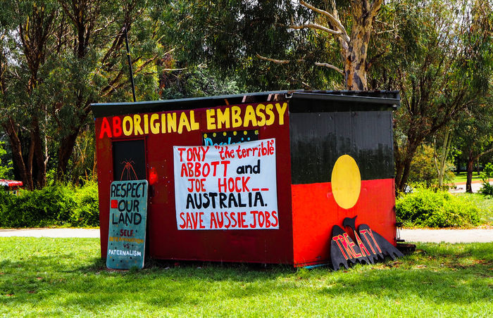 The Aboriginal Embassy in front of the Old Parliament House in Canberra Aboriginal Art Artistic Colorsplash Embassy Graffiti History Human Rights Journalism Landmark Treaty Activism Paint Painting Political Politics Protest Revolution Right Rights Streetphotography Symbol Travel Activism Art Showcase: December