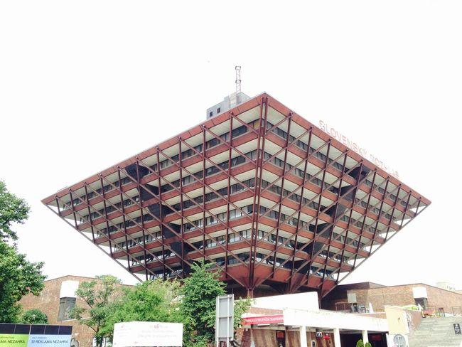 Building of The Slovak Radio The Architect - 2015 EyeEm Awards