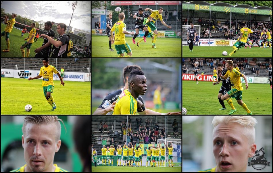 Ilves 2 - FC Lahti 0 Tampere Ilves Jalkapallo Football Soccer Suomi Finland Multivisio Football Fever