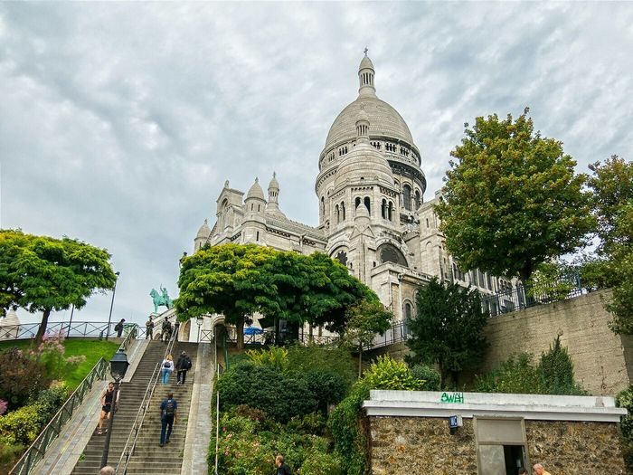 Basilica Sacre Coeur Travel Paris Vacation
