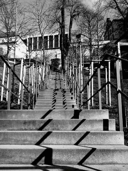 Steps Built Structure Steps And Staircases Day Outdoors Sunlight Railing EyeEmNewHere