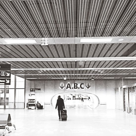 Bw_collection Blackandwhite Streetphotography Airport