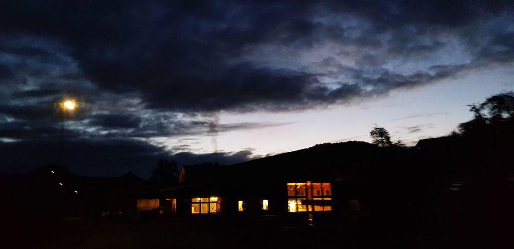 Moon House Sky