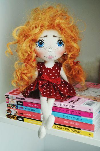 Кукла_моя 😘 кукла Fun Facial Expression куклаизткани ручнаяработа