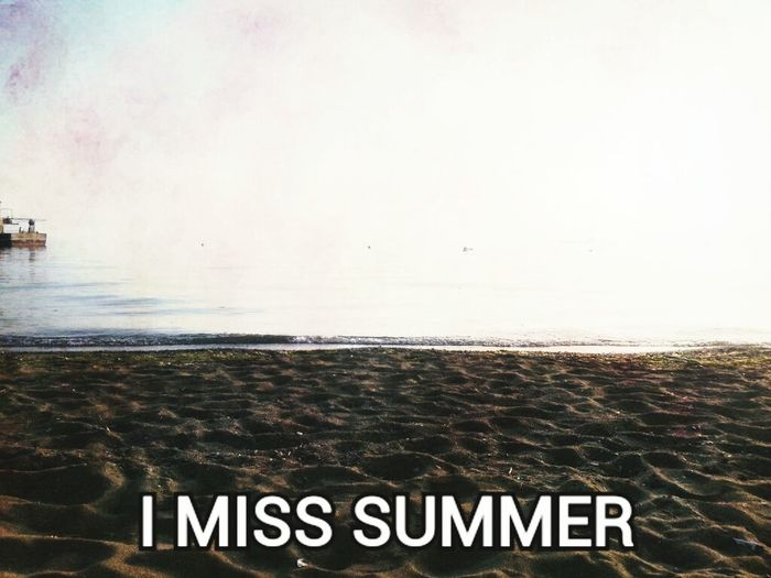 Sightseeing Traveling Hello World Enjoy Life Sandy Beach Sea Seaside Miss Summer ☀