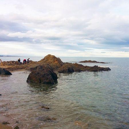 C'est encore l'hiver. .du moins sur le calendrier car sur la plage, c'est le bonheur absolu :) Argeles Plage Mer Méditerranée PyrénéesOrientales LanguedocRoussillon PaysCatalan SudDeFrance igersfrance
