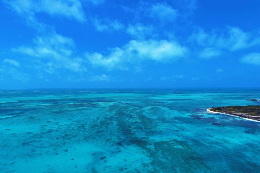 Aerial view of island and beach in Los Roques, Venezuela Water Sea Sky Scenics - Nature Blue Cloud - Sky Horizon Over Water Horizon Beauty In Nature Tranquil Scene Nature Tranquility No People Tropical Climate Seascape Land Day Beach Environment Outdoors Turquoise Colored Lagoon Los Roques Madrisqui Caribe Caribbean Caribbean Life Caribbean Island Francisqui Crasqui Carenero's Beach Cayo De Agua Venezuela