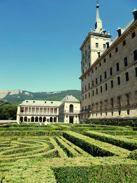 Aupair Sightseeing Sights & Views  Garden Travelling Beautiful Place Exploring The World Nature El Escorial SPAIN